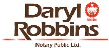 Daryl Robbins Notary